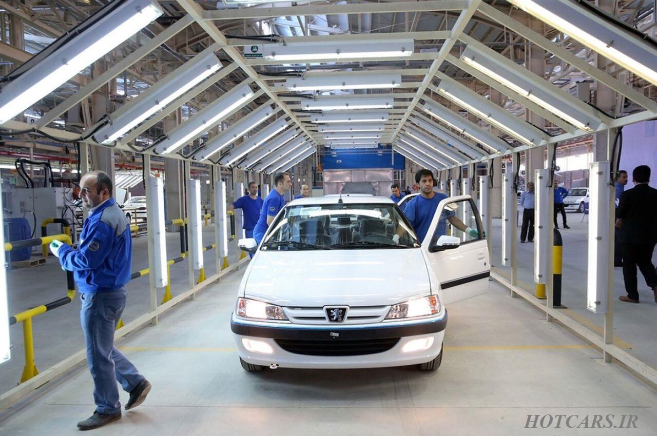 افزایش تولید خودروهای دوگانه سوز توسط ایران خودرو